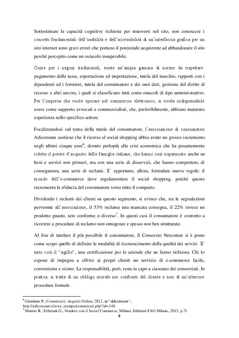 Estratto dalla tesi: E-commerce: importanza, possibilità e il suo utilizzo da parte di Decathlon Italia