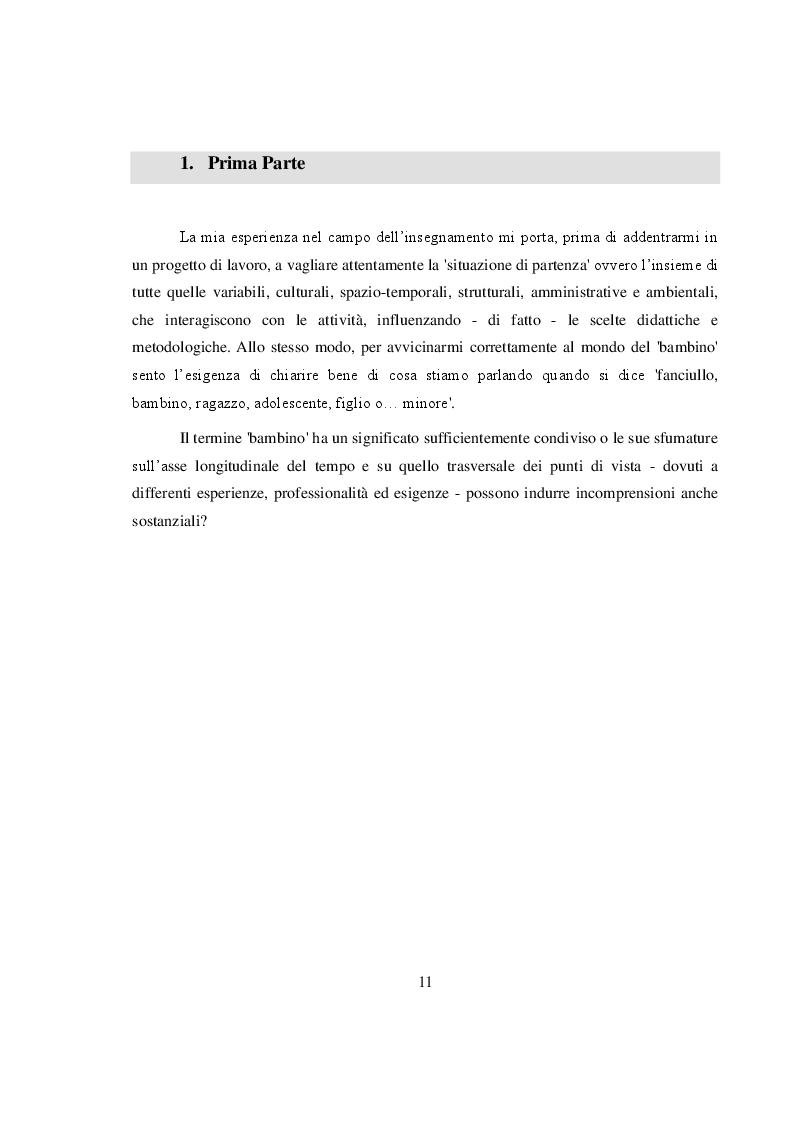 Anteprima della tesi: La salvaguardia dell'integrità emotiva dei figli nel conflitto di coppia, Pagina 8