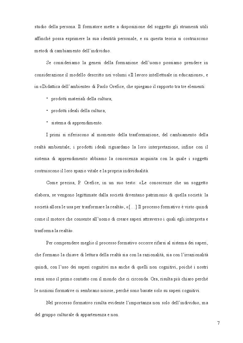 Anteprima della tesi: La formazione come strategia per il successo, Pagina 6