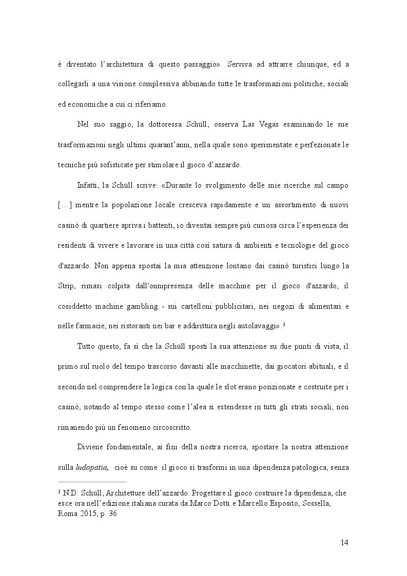 Estratto dalla tesi: Gioco d'azzardo e conflitto istituzionale: il caso del Piemonte