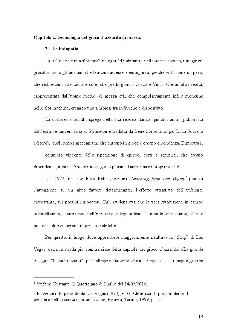 Anteprima della tesi: Gioco d'azzardo e conflitto istituzionale: il caso del Piemonte, Pagina 2