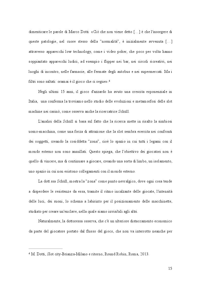 Anteprima della tesi: Gioco d'azzardo e conflitto istituzionale: il caso del Piemonte, Pagina 4