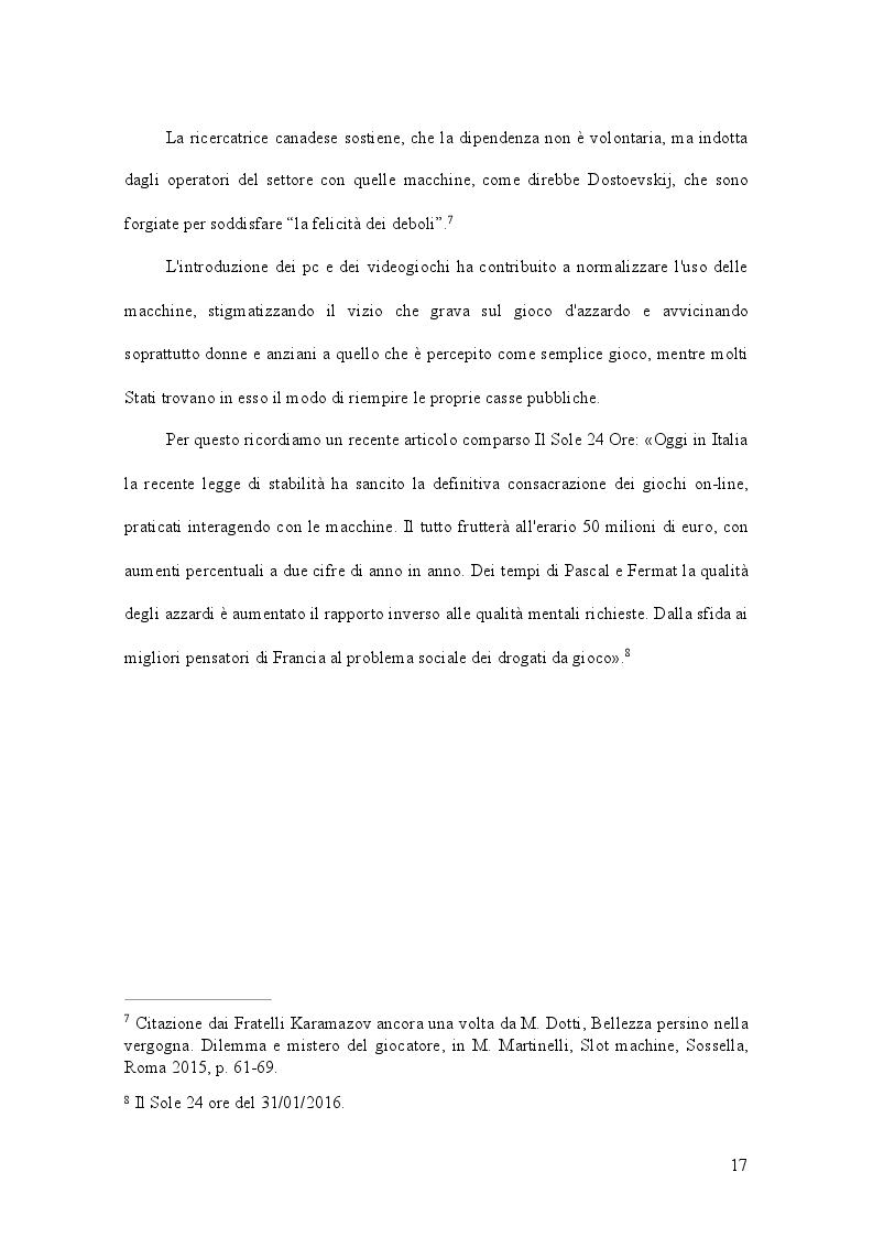Anteprima della tesi: Gioco d'azzardo e conflitto istituzionale: il caso del Piemonte, Pagina 6