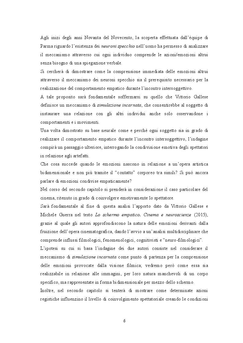 Anteprima della tesi: Attraverso lo schermo: le emozioni tra cinema e cervello, Pagina 3