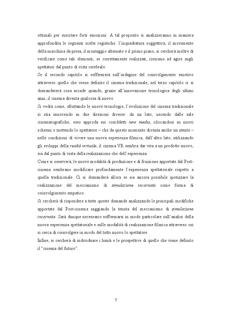 Anteprima della tesi: Attraverso lo schermo: le emozioni tra cinema e cervello, Pagina 4