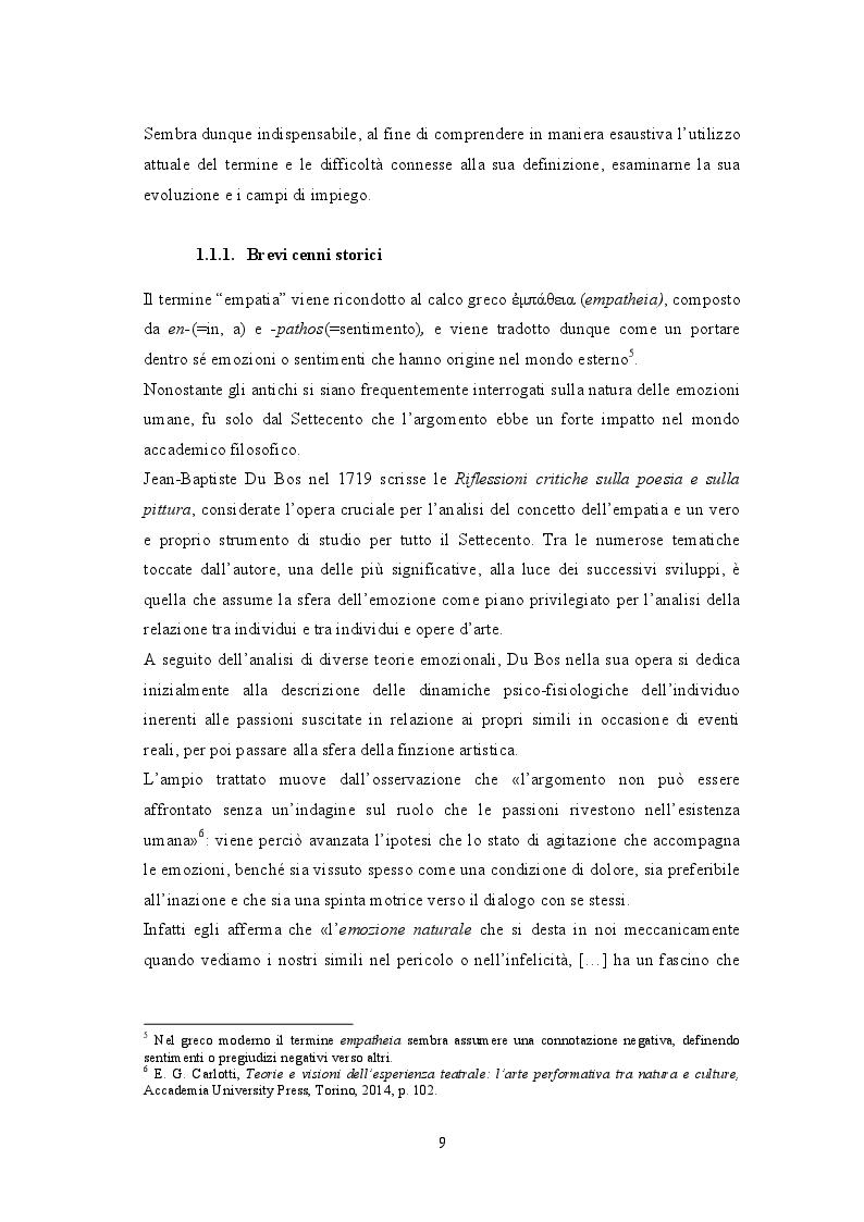Anteprima della tesi: Attraverso lo schermo: le emozioni tra cinema e cervello, Pagina 6