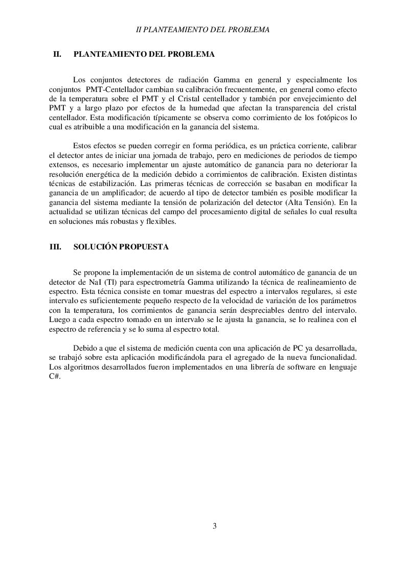Anteprima della tesi: Estabilización de sistema detector basado en NAI, Pagina 5