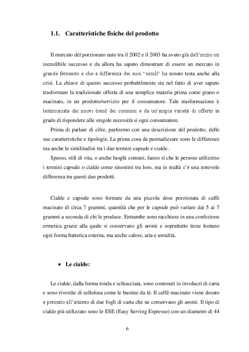 Anteprima della tesi: La ''guerrilla'' del caffè monoporzione. Il concetto di lusso di Nespresso, Pagina 5