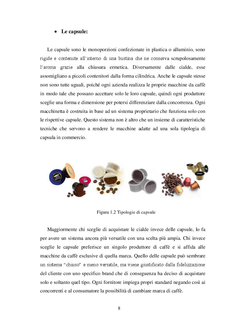 Anteprima della tesi: La ''guerrilla'' del caffè monoporzione. Il concetto di lusso di Nespresso, Pagina 7