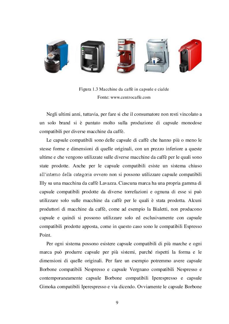 Anteprima della tesi: La ''guerrilla'' del caffè monoporzione. Il concetto di lusso di Nespresso, Pagina 8