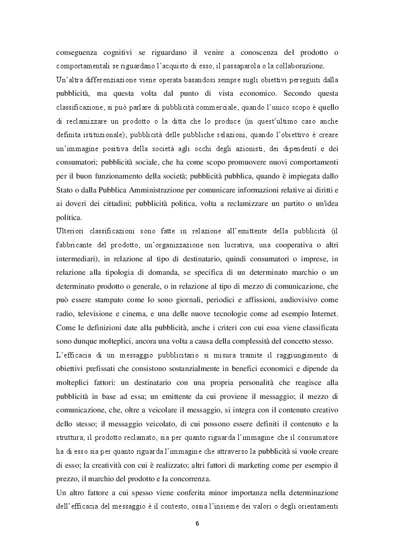 Anteprima della tesi: La pubblicità e la traduzione del messaggio pubblicitario problemi e strategie traduttivi., Pagina 4