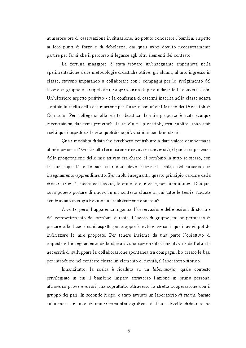 Anteprima della tesi: Quando i nonni raccontano. L'affettività nel laboratorio storico., Pagina 4