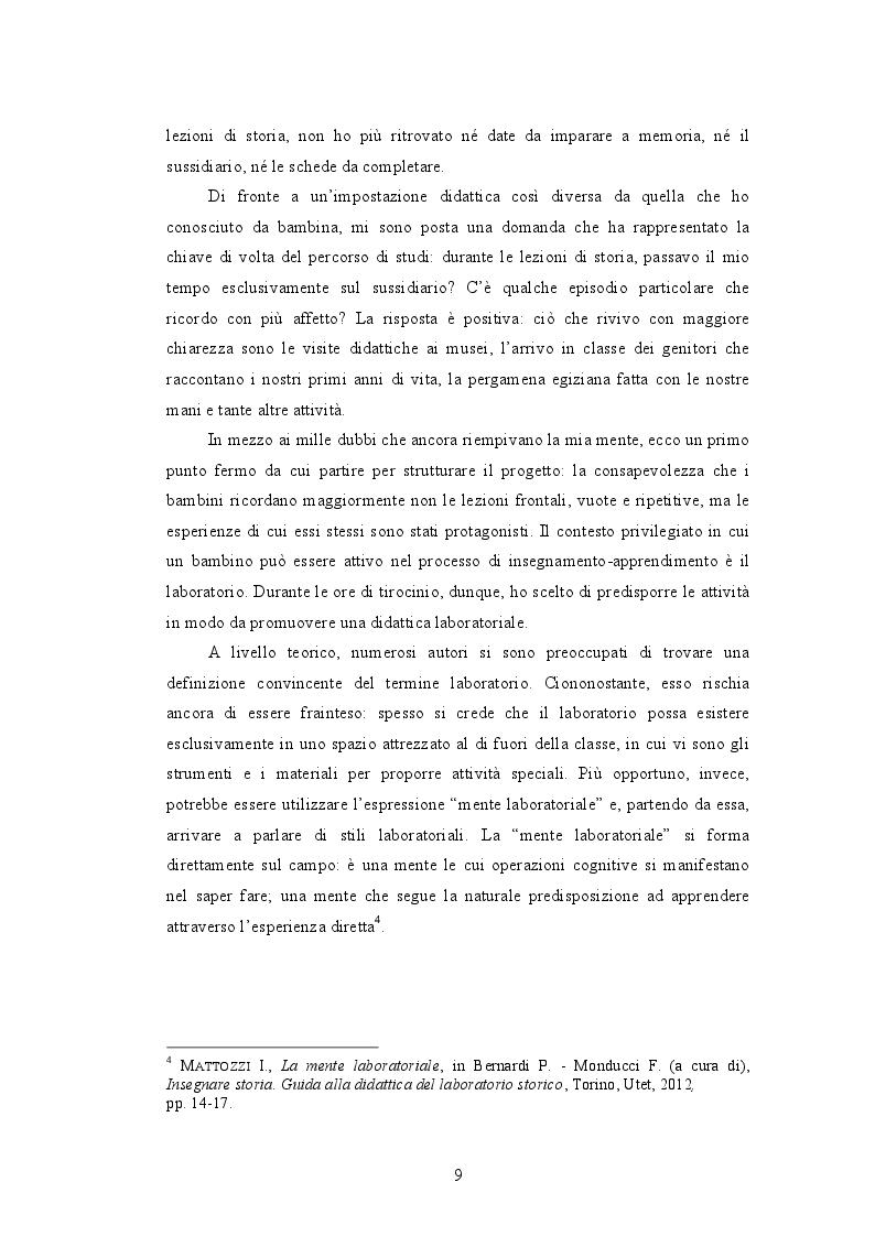 Anteprima della tesi: Quando i nonni raccontano. L'affettività nel laboratorio storico., Pagina 7