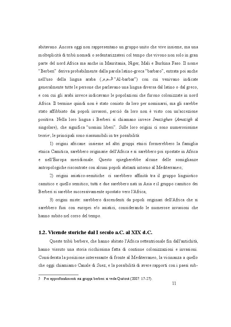 Anteprima della tesi: Maghreb, un mosaico di lingue. Politiche linguistiche di Marocco, Algeria e Tunisia a confronto, Pagina 4