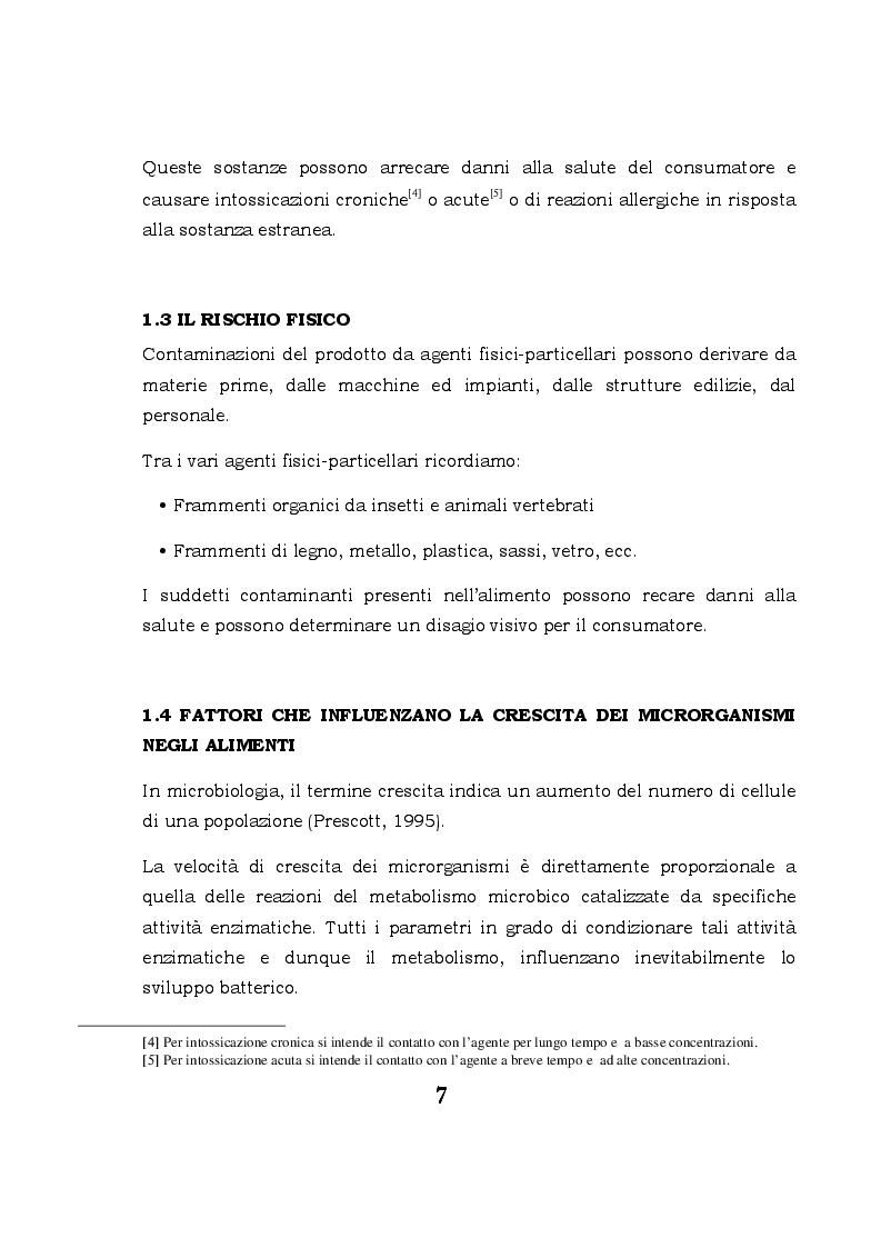 Anteprima della tesi: Biofilm microbici e igiene degli alimenti, Pagina 4