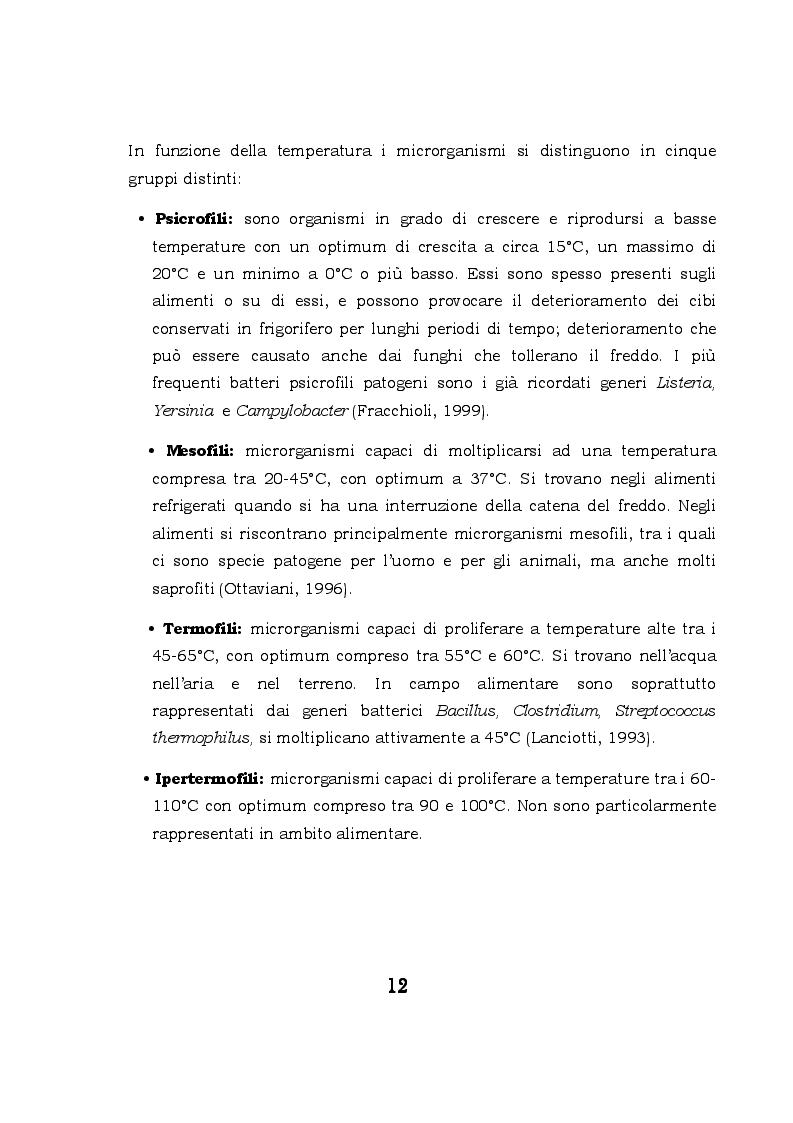 Anteprima della tesi: Biofilm microbici e igiene degli alimenti, Pagina 9