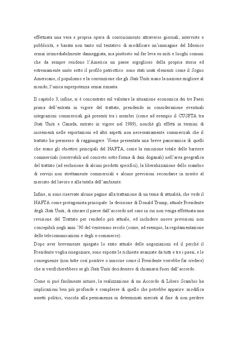 Anteprima della tesi: Gli Accordi di Libero Scambio: uno sguardo d'insieme e focus sul NAFTA, Pagina 5