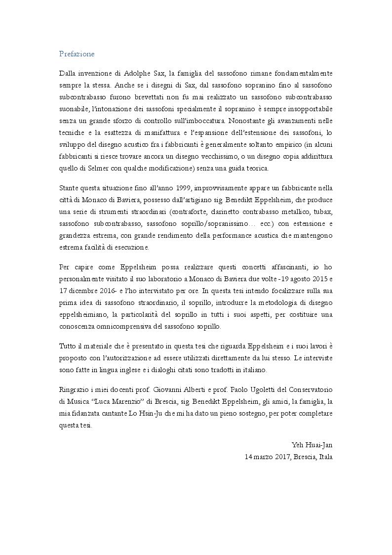 Anteprima della tesi: Uno studio complessivo del sassofono soprillo, Pagina 2