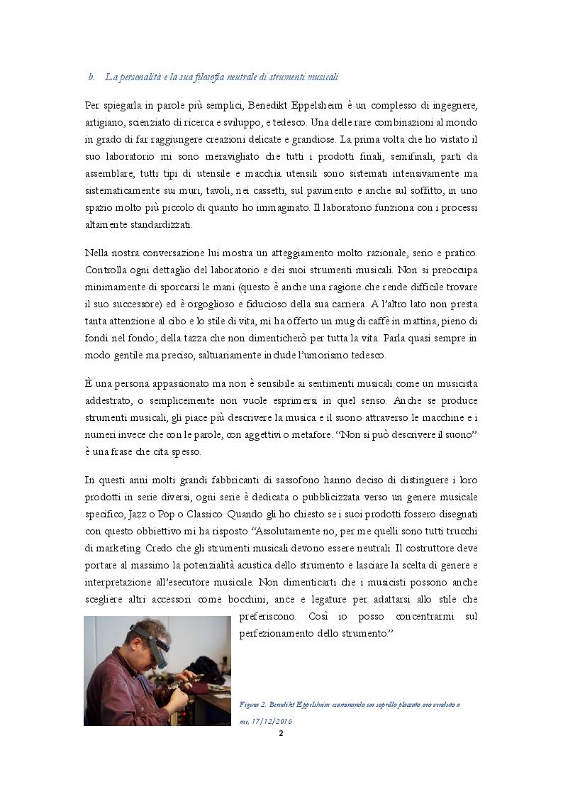 Anteprima della tesi: Uno studio complessivo del sassofono soprillo, Pagina 4
