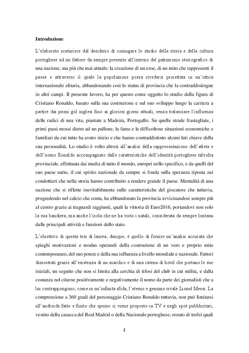 Anteprima della tesi: Mitologie calcistiche e mediatiche di CR7, Pagina 3