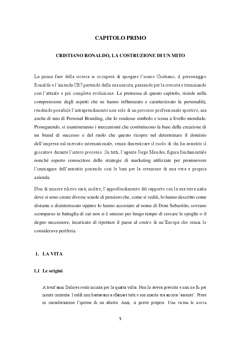 Anteprima della tesi: Mitologie calcistiche e mediatiche di CR7, Pagina 6