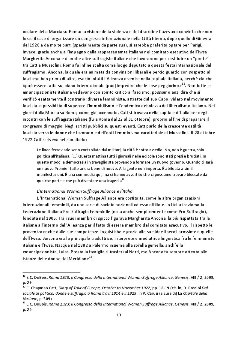 Anteprima della tesi: Hoda Sharawi e il movimento internazionale delle donne (1919-1947), Pagina 10