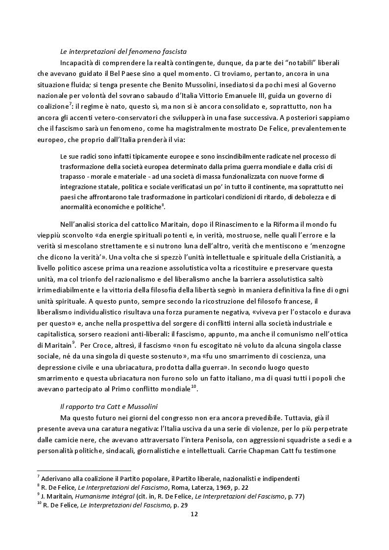 Anteprima della tesi: Hoda Sharawi e il movimento internazionale delle donne (1919-1947), Pagina 9