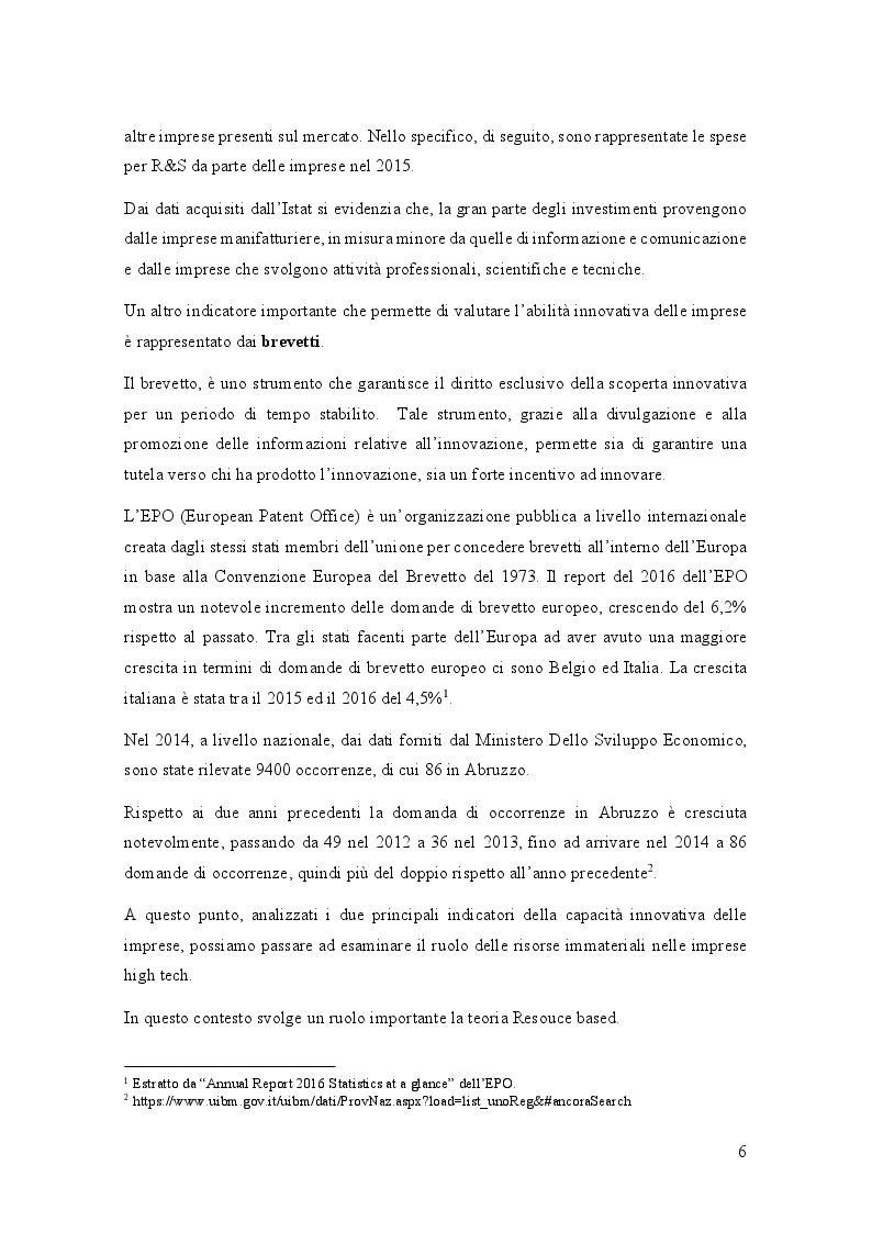 Anteprima della tesi: Analisi di settore del comparto High Tech in Abruzzo, Pagina 7