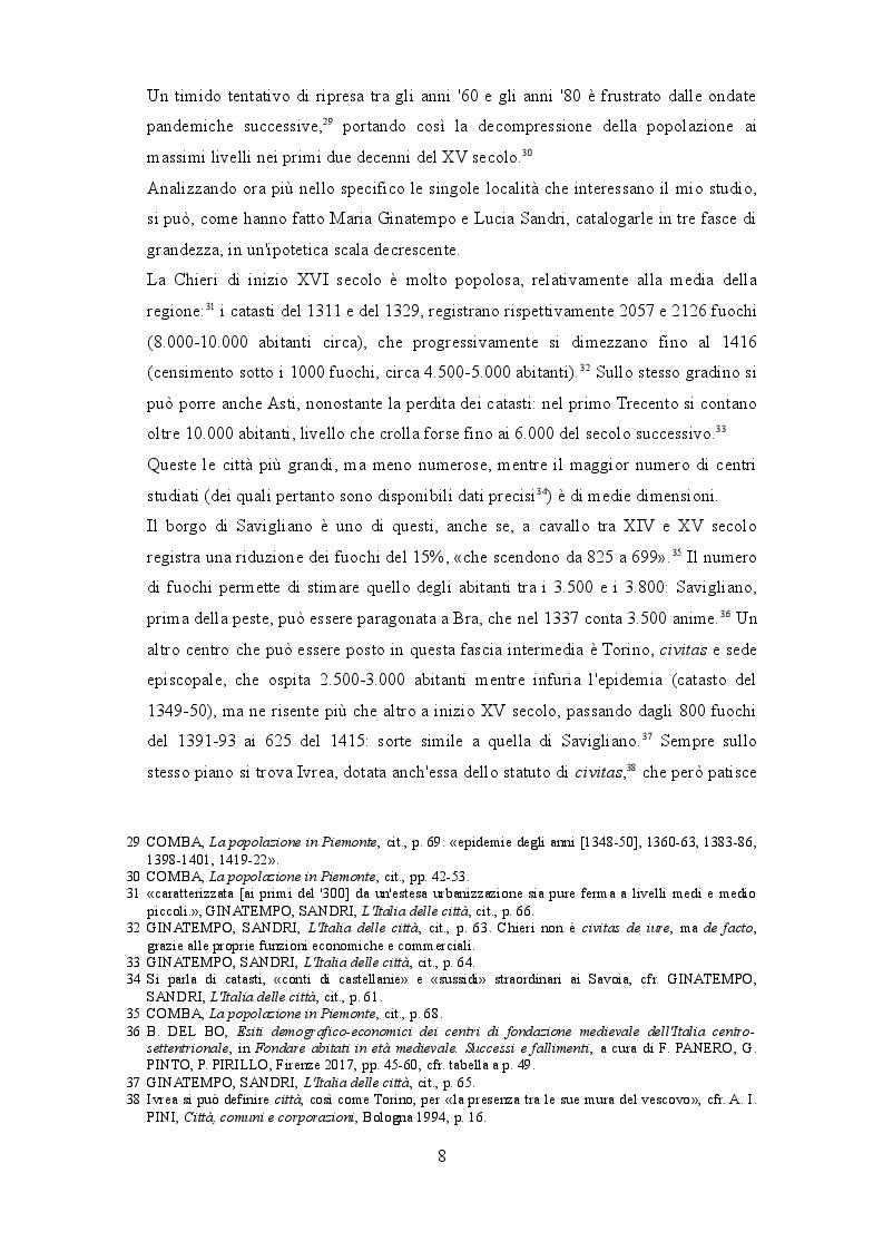 Anteprima della tesi: I beccai dell'area subalpina medievale. Economia, potere lavoro., Pagina 5