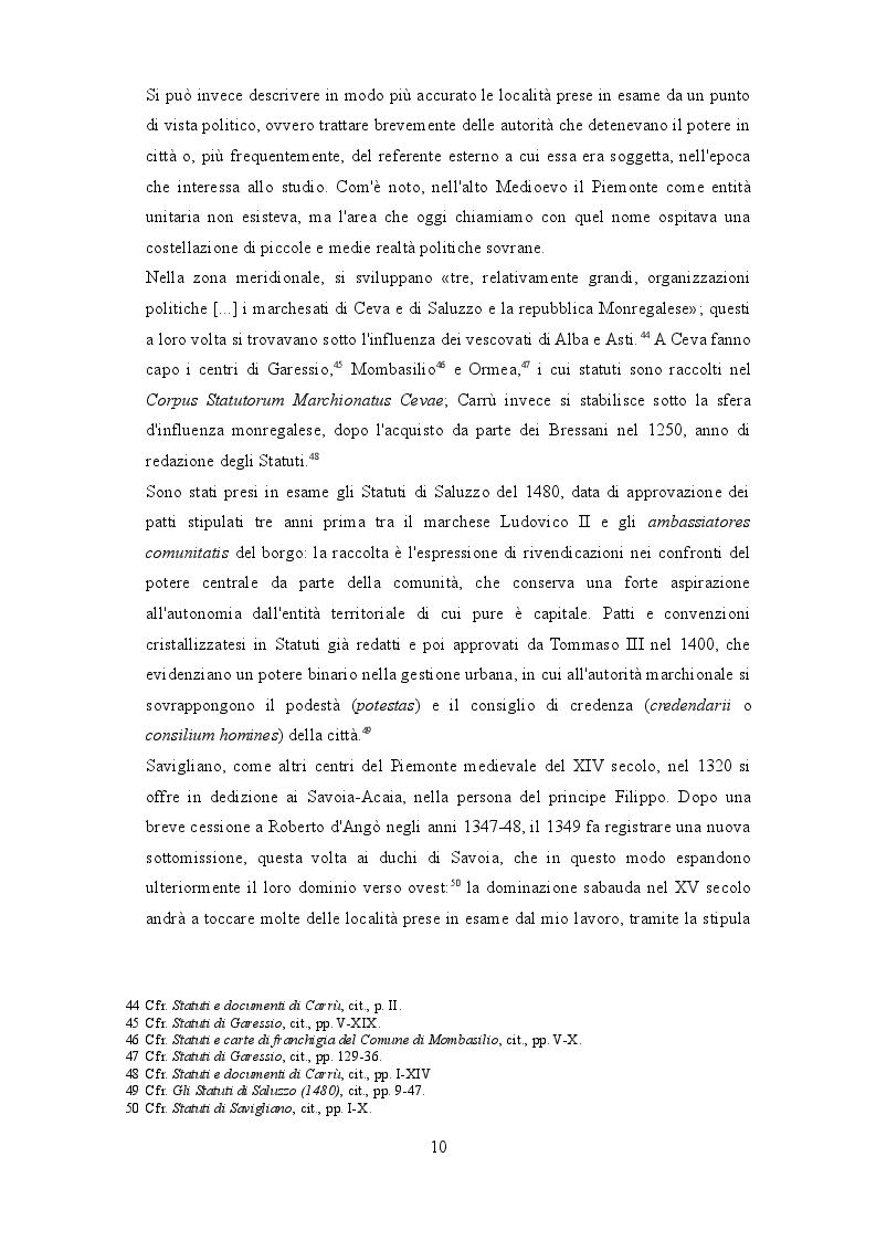 Anteprima della tesi: I beccai dell'area subalpina medievale. Economia, potere lavoro., Pagina 7