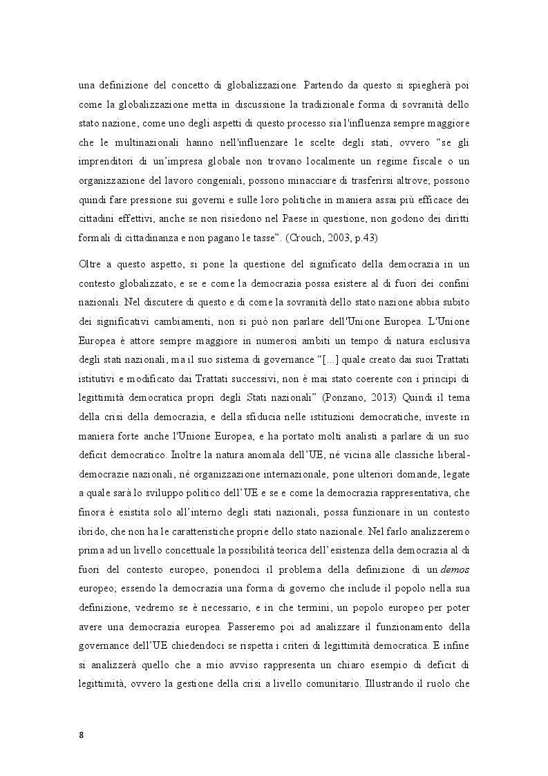 Anteprima della tesi: Movimenti sociali e democrazia nell'epoca della crisi: il caso degli indignados, Pagina 6