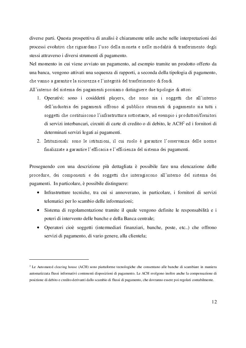 Anteprima della tesi: Open Banking e PSD2: sfide ed opportunità per le banche, Pagina 8