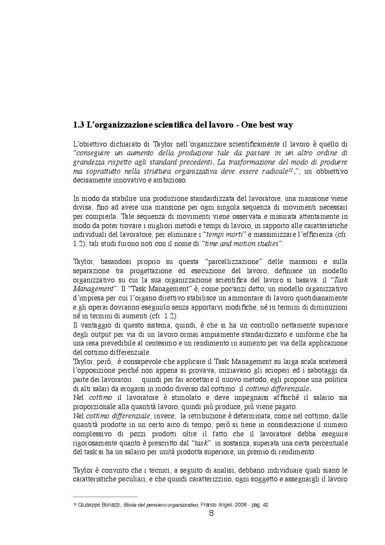 Anteprima della tesi: Dalla Produzione di Massa alla Produzione Flessibile, Pagina 2