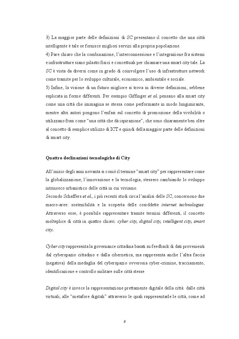 Anteprima della tesi: Smart Cities: analisi e casi studio sulle città del futuro, Pagina 5