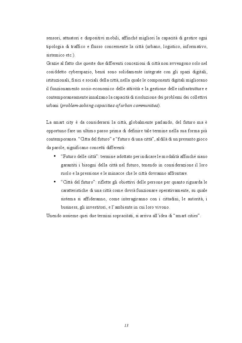Anteprima della tesi: Smart Cities: analisi e casi studio sulle città del futuro, Pagina 9
