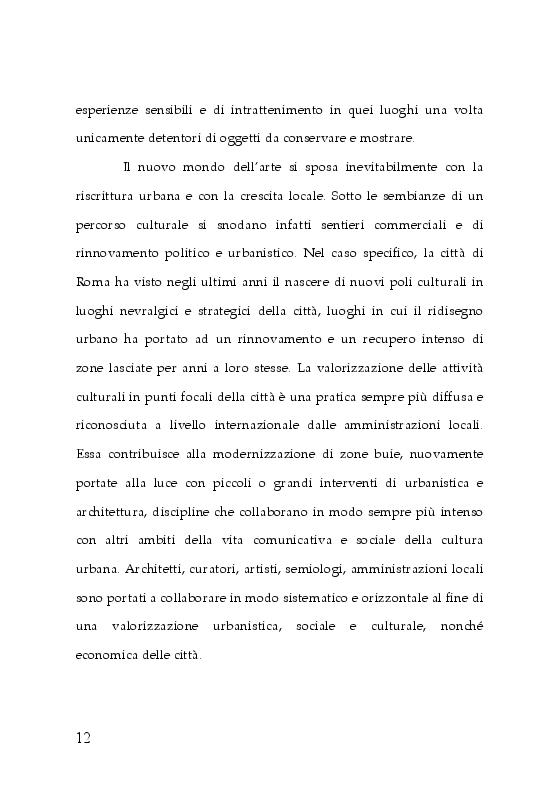 Anteprima della tesi: Trasformazioni museali. Analisi semiotica del Palazzo delle Esposizioni di Roma, Pagina 4
