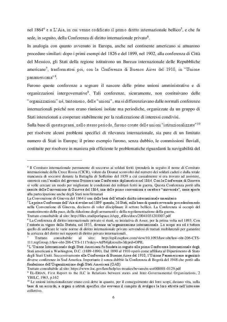 Anteprima della tesi: Le organizzazioni di integrazione economica regionale e la disciplina del recesso: il caso Brexit, Pagina 6