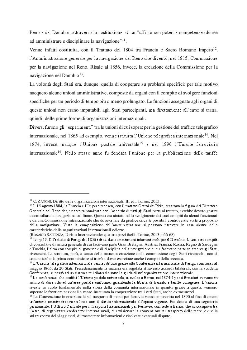 Anteprima della tesi: Le organizzazioni di integrazione economica regionale e la disciplina del recesso: il caso Brexit, Pagina 7