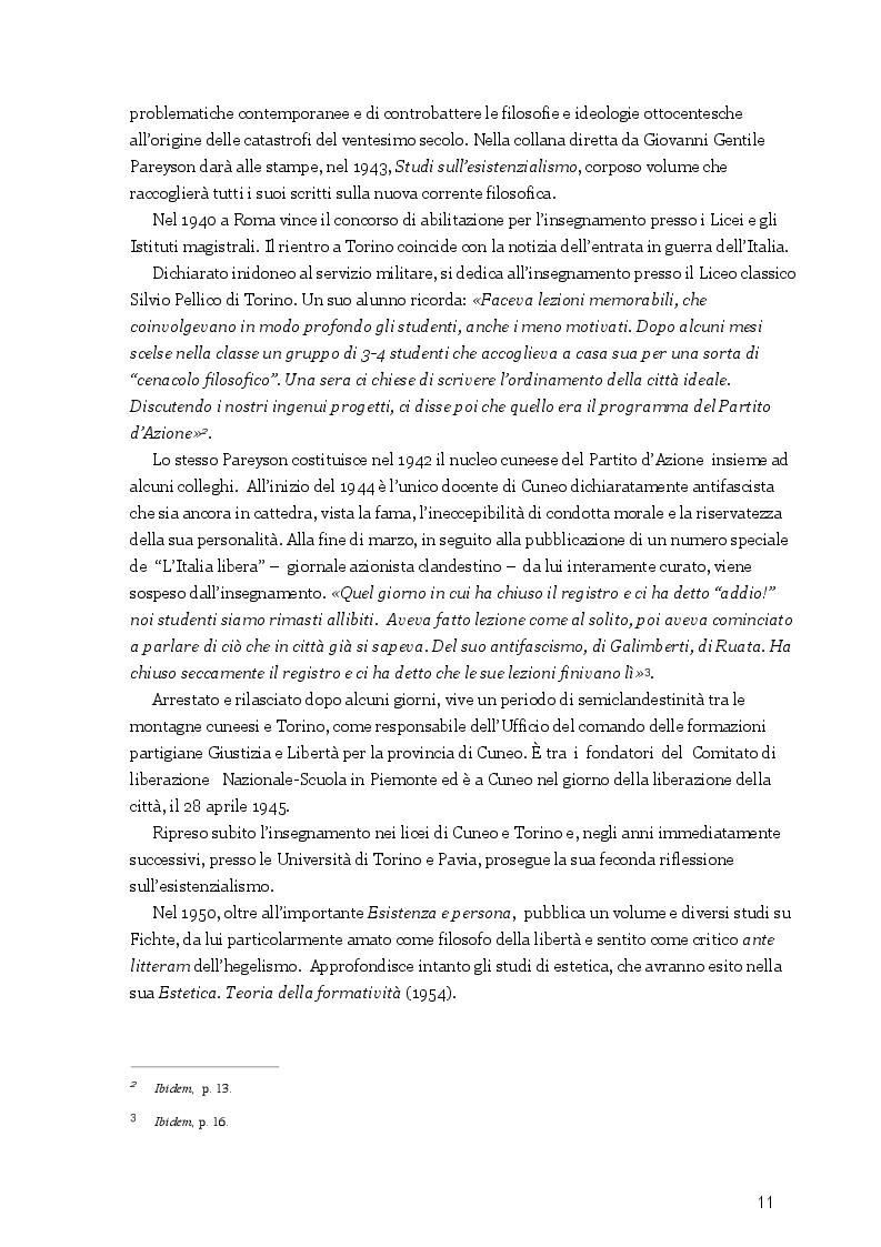 Anteprima della tesi: La libertà del male, il male della libertà. Una riflessione sul pensiero tragico di Luigi Pareyson in rapporto alla testimonianza biblica, Pagina 4