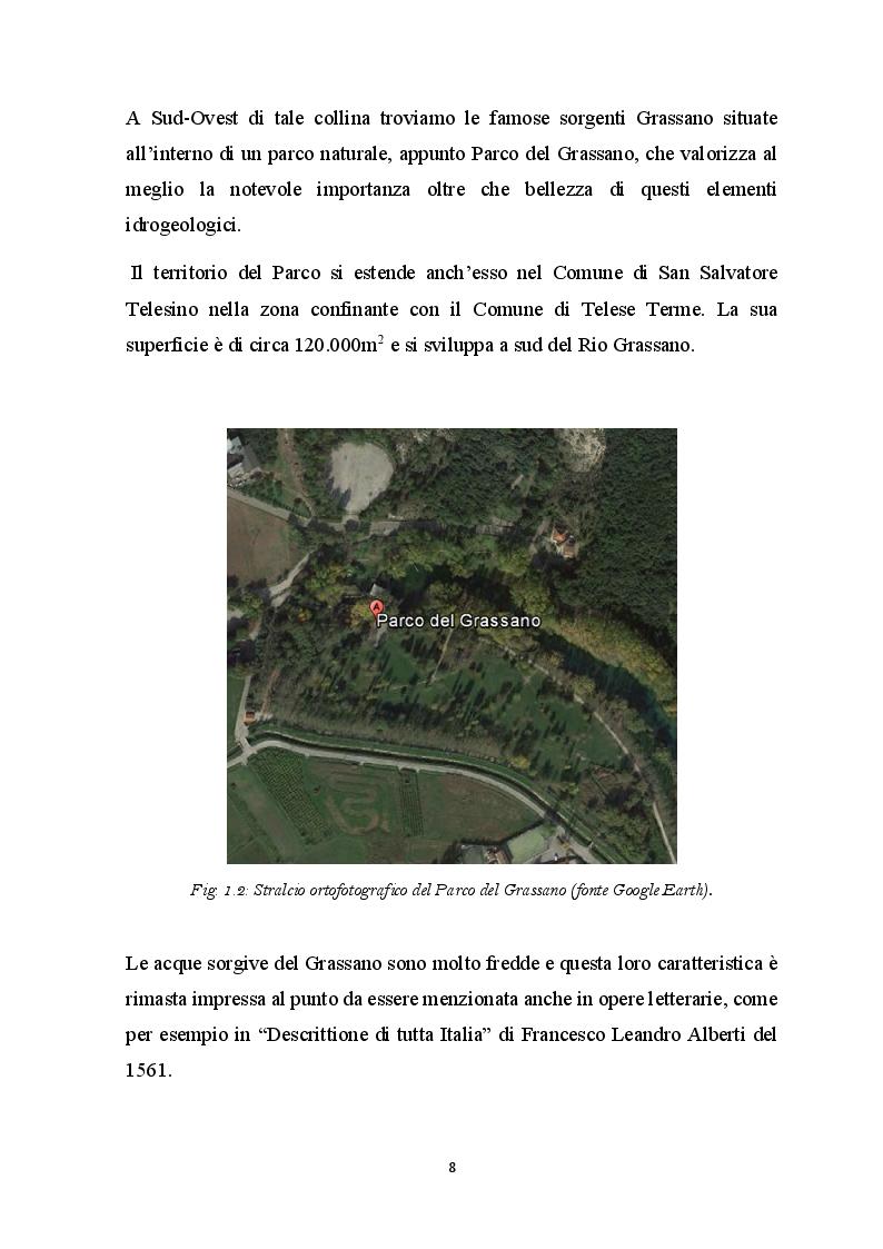 Anteprima della tesi: Elementi Idrogeologici delle Sorgenti di Monte Pugliano (Valle Telesina, BN), Pagina 5