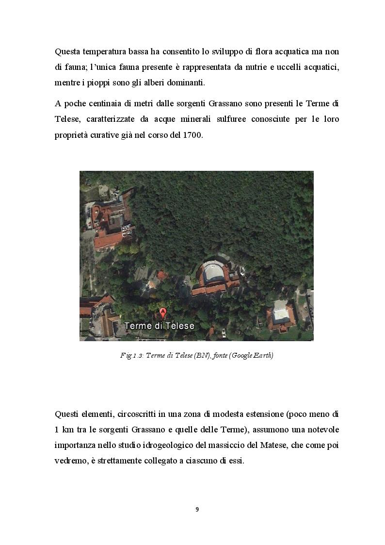 Anteprima della tesi: Elementi Idrogeologici delle Sorgenti di Monte Pugliano (Valle Telesina, BN), Pagina 6