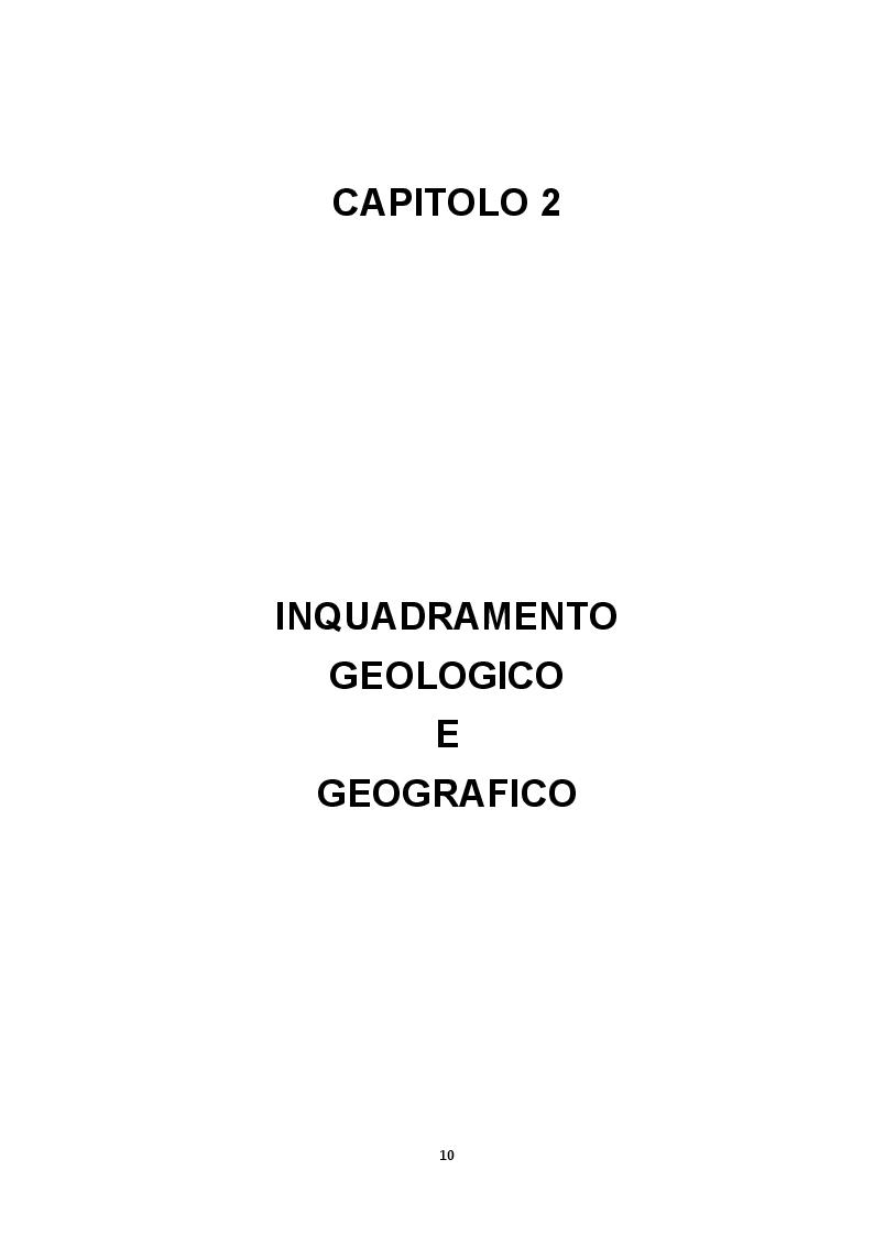 Anteprima della tesi: Elementi Idrogeologici delle Sorgenti di Monte Pugliano (Valle Telesina, BN), Pagina 7