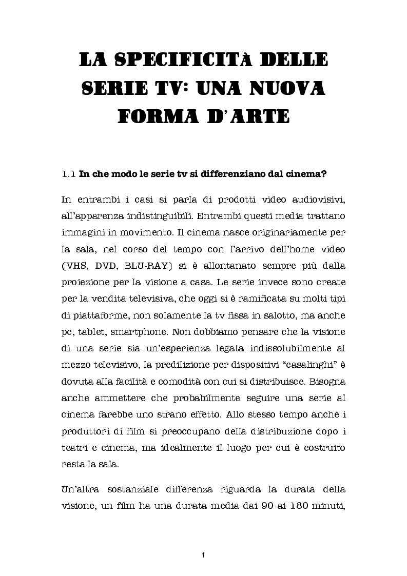 Anteprima della tesi: SERIE BATTE CINEMA: quali contenuti scegliamo? Come li guardiamo? E su quali schermi?, Pagina 2