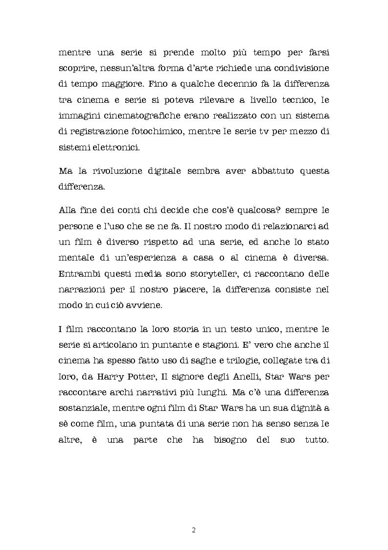Anteprima della tesi: SERIE BATTE CINEMA: quali contenuti scegliamo? Come li guardiamo? E su quali schermi?, Pagina 3