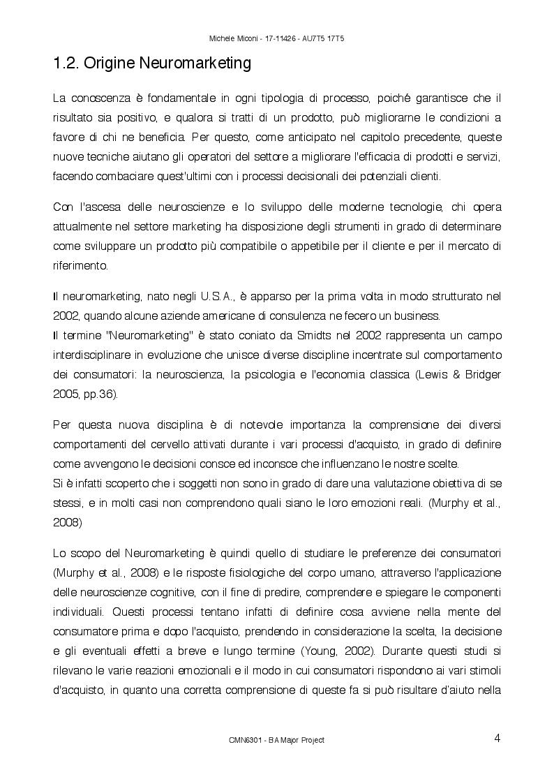 Anteprima della tesi: Sonic Branding: percezione sonora nell'era emozionale, Pagina 5