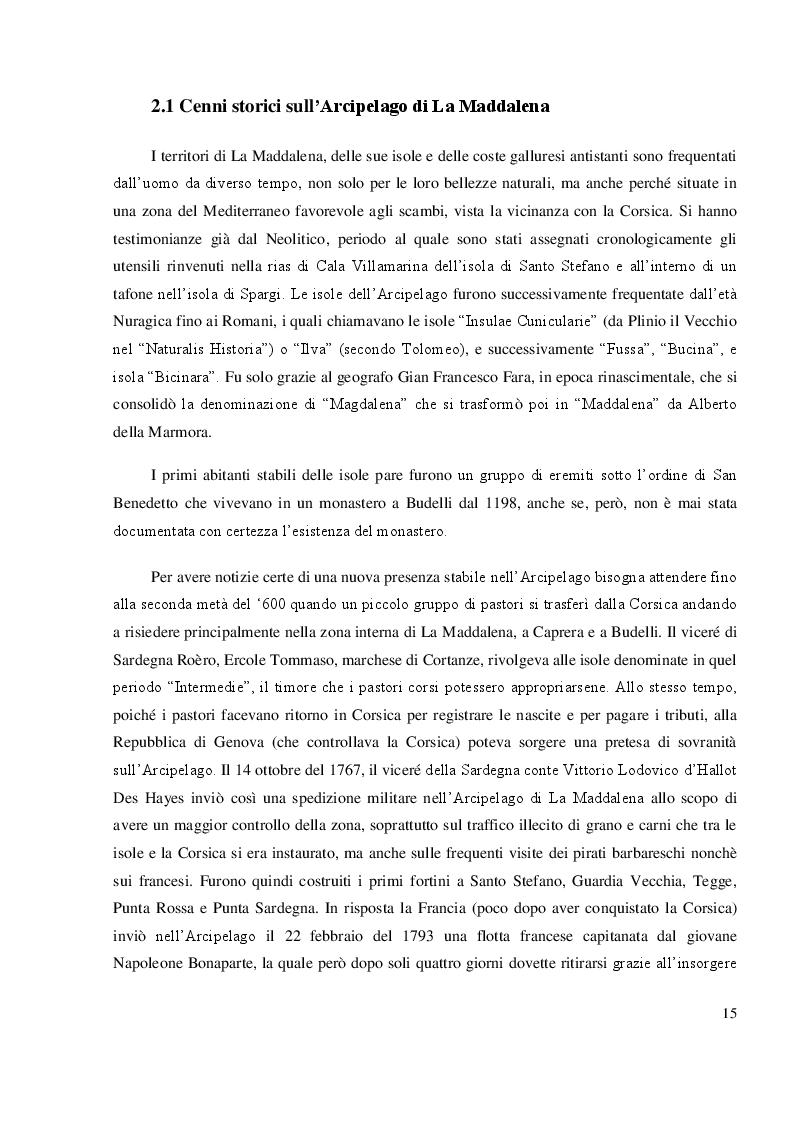 Anteprima della tesi: Mappatura morfo-sedimentologica e classificazione degli impatti antropici presenti nelle praterie di Posidonia oceanica del Canale di Buccinara  (Arcipelago di La Maddalena)., Pagina 2