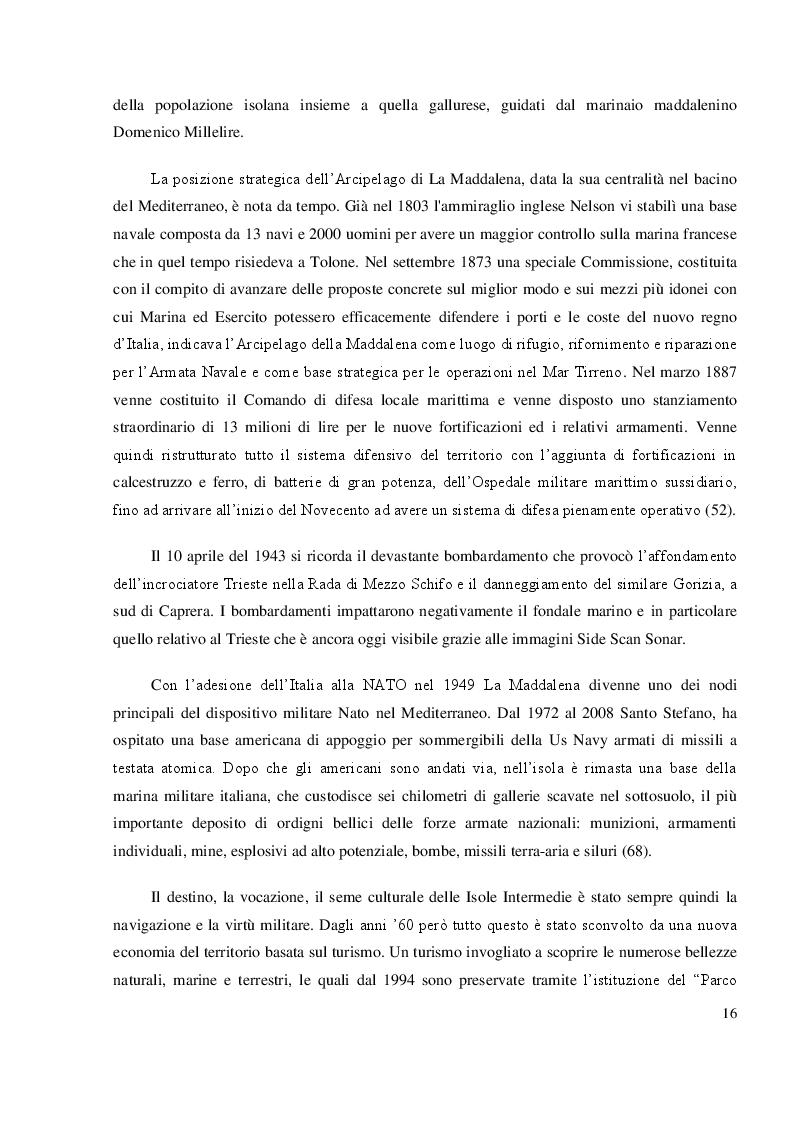 Anteprima della tesi: Mappatura morfo-sedimentologica e classificazione degli impatti antropici presenti nelle praterie di Posidonia oceanica del Canale di Buccinara  (Arcipelago di La Maddalena)., Pagina 3