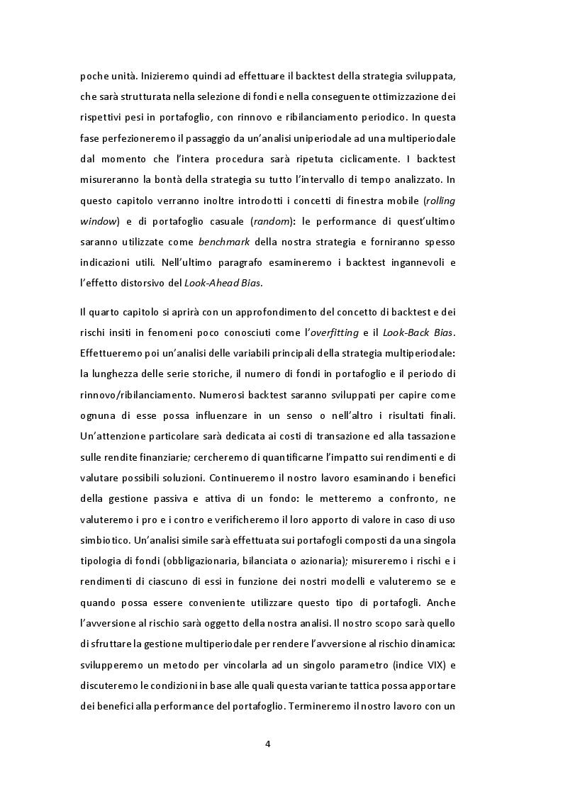 Anteprima della tesi: Gestione multiperiodale del portafoglio: una strategia di investimento basata sulla Cluster Analysis e su processi GARCH multivariati, Pagina 3