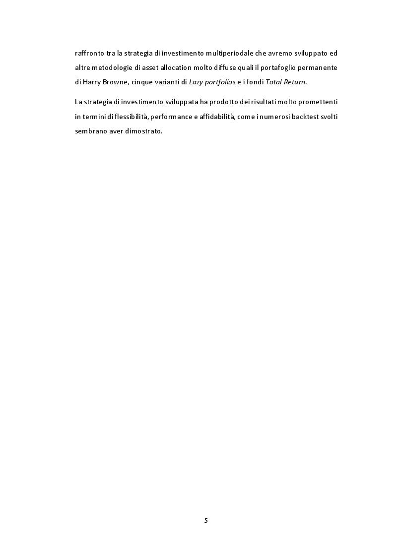Anteprima della tesi: Gestione multiperiodale del portafoglio: una strategia di investimento basata sulla Cluster Analysis e su processi GARCH multivariati, Pagina 4