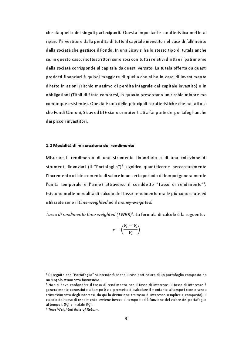 Anteprima della tesi: Gestione multiperiodale del portafoglio: una strategia di investimento basata sulla Cluster Analysis e su processi GARCH multivariati, Pagina 7